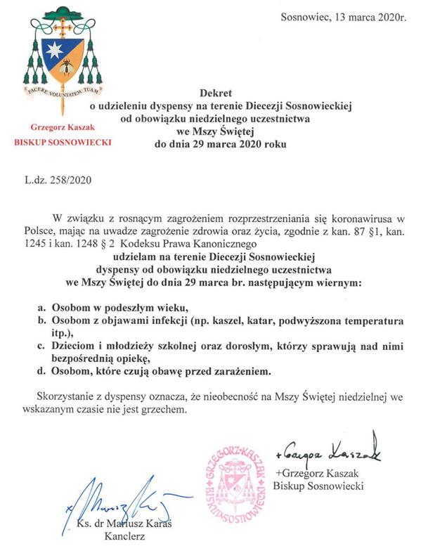 Dekret 13.03.2020